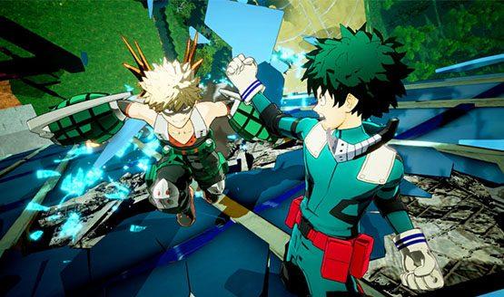 My Hero One's Justice, my hero academia, fighting game, bandai namco, e3, e3 2018, trailer