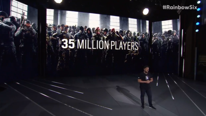Rainbow Six Siege Surpasses 35 Million Players
