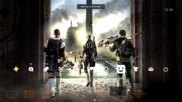 The Division 2 Free Dynamic Theme