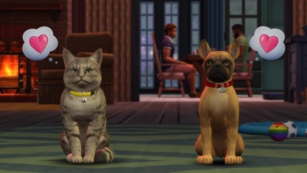 the sims 4, cats and dogs expansion