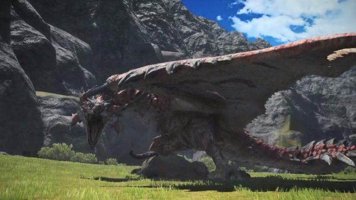 final fantasy monster hunter