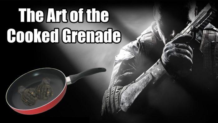 Cooking a grenade