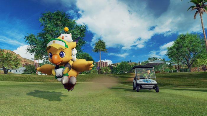 Everybody's Golf Final Fantasy