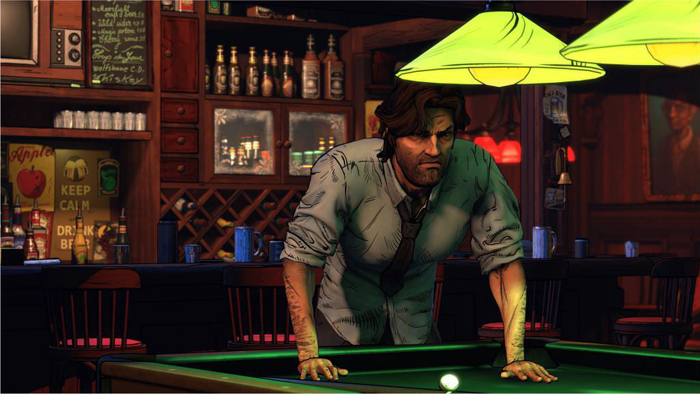 Fake The Wolf Among Us Season 2 Screenshot