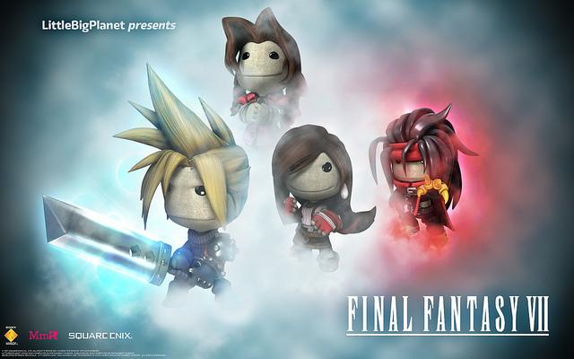 LittleBigPlanet2 Final Fantasy VII