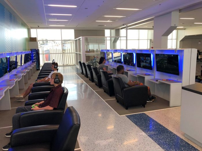 DFW Airport Gaming Lounge Gameway