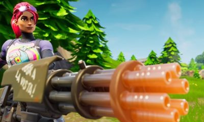 fortnite, minigun