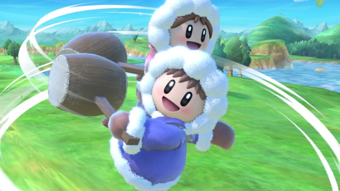 ice climbers, super smash bros