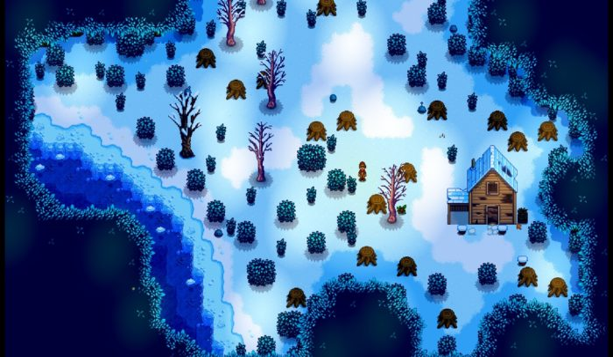 secret woods, mod, stardew valley