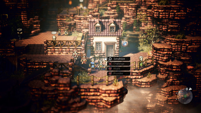 octopath actions