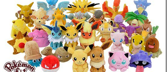 Pokemon Plushes