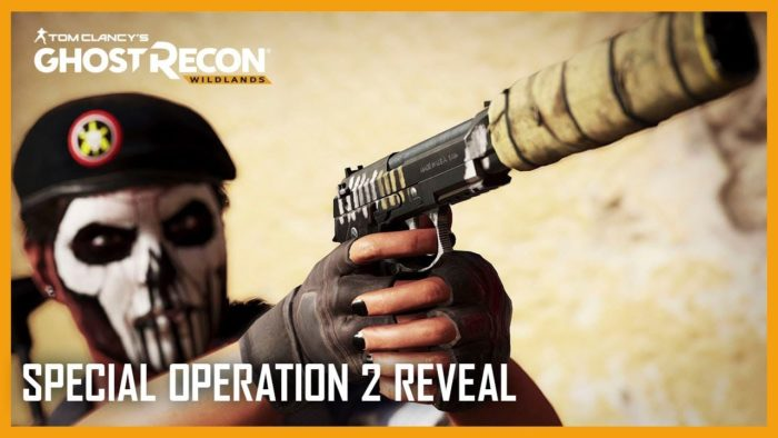 Special Operation Ghost Recon Rainbow Six Siege