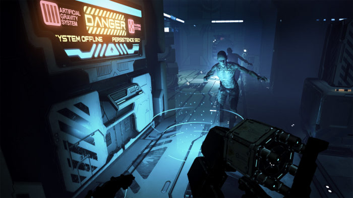 the persistence, VR, PSVR
