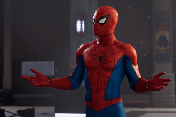 spider-man ps4, greet citizens, song, opening, easter eggs
