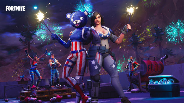 4th of July - Sparkles