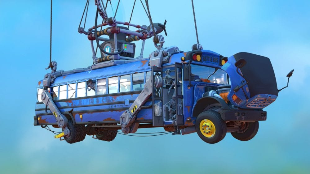 Fortnite Thank the Bus Driver