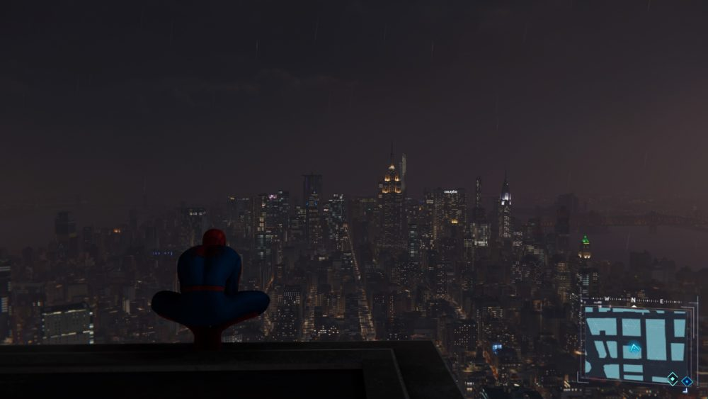 spider-man ps4, fast travel