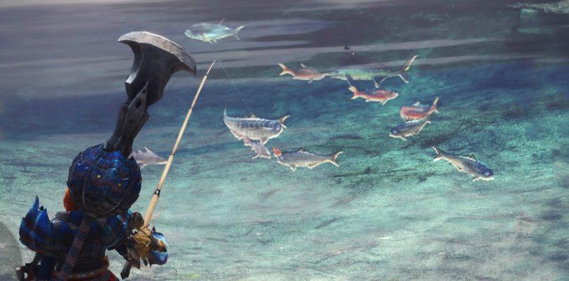 monster hunter fishing