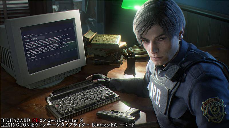 leon's desk, resident evil 2