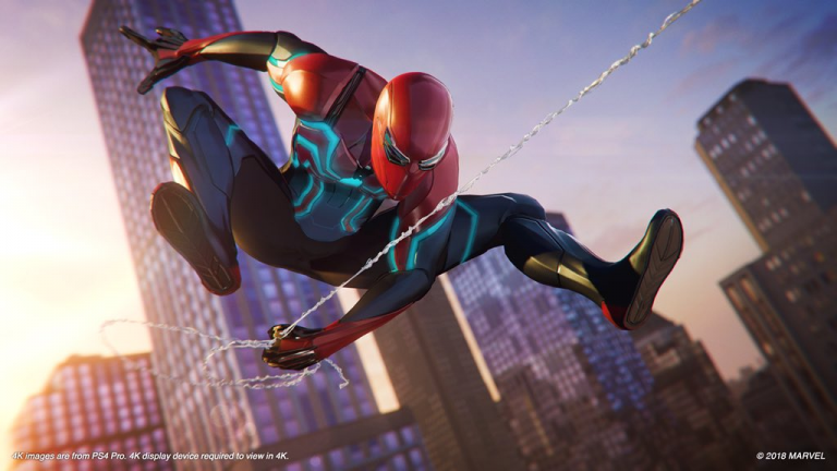 spider-man ps4, wait, pass time, sticky and tricky trophy