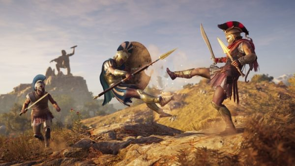 assassin's creed odyssey, assassins creed odyssey guide wiki, how to raise your bounty, spartan kick, assassin's creed odyssey, mercenaries, how, raise, bounty, fast, easy, special attacks