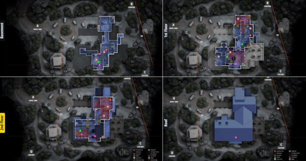 Rainbow Six Siege: All Camera Locations for Every Map