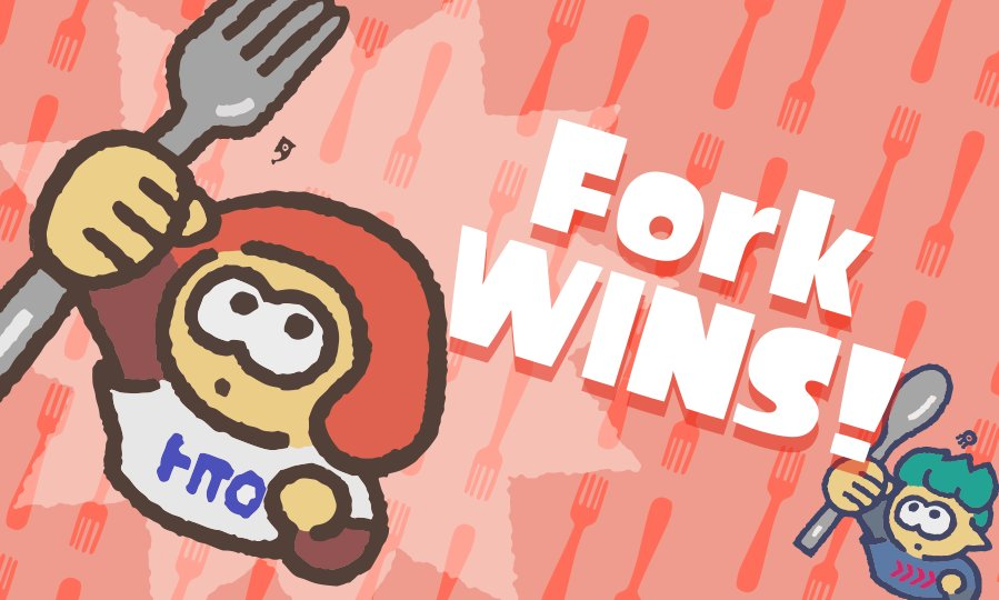splatfest, team fork