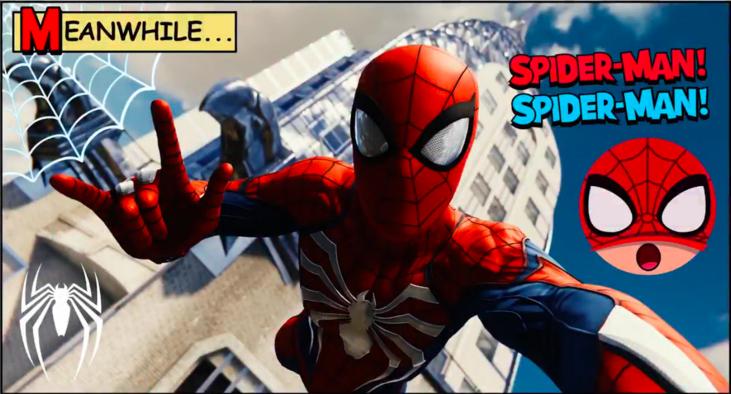 spider-man ps4, spiderman