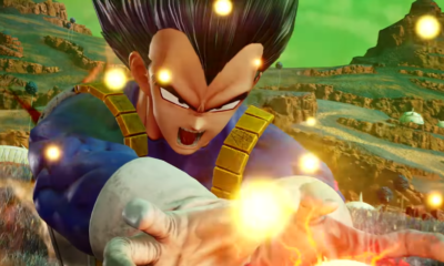 Vegeta reveal in Jump Force