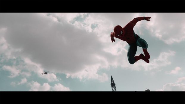 This could easily be a scene from Spider-Man Homecoming