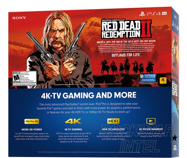 Red Dead Redemption 2, Red Dead, File Size, PS4, PS4 Pro, Bundle, Rockstar, PlayStation