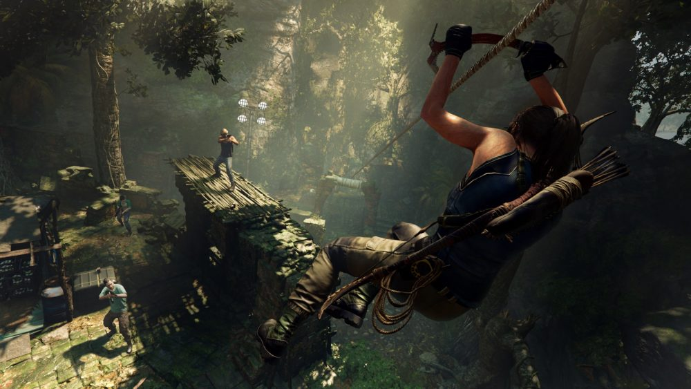 shadow of the tomb raider, shotgun