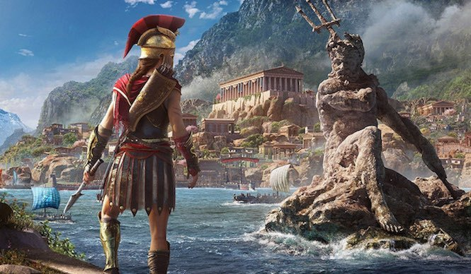 assassin's creed odyssey photo mode, how to use photo mode, take photos, how to take photos, medusa