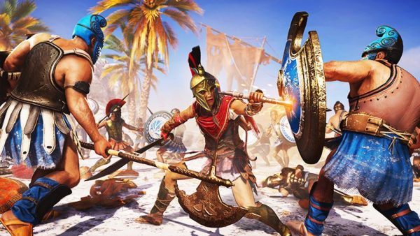 assassin's creed odyssey, best ps4 games, october 2018, have on your radar, become the first mercenary, trophy, achievement, top of the food chain, artifact fragments in assassin's creed odyssey