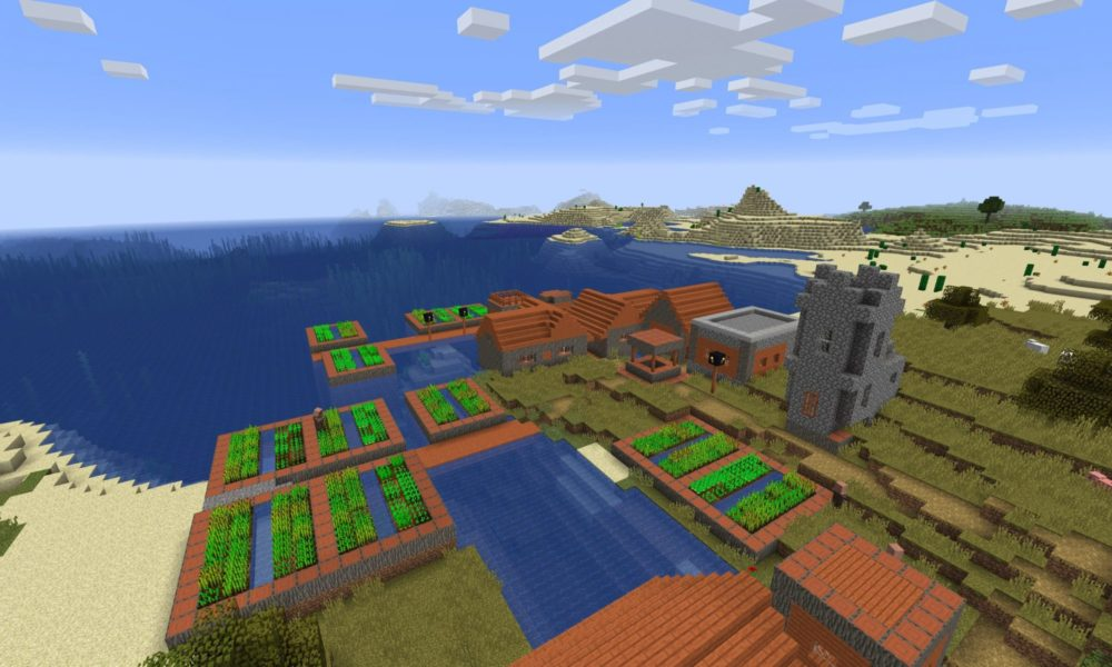 Best Seeds For Minecraft Xbox One 2020 Top 5 Best Minecraft 1.13 Village Seeds