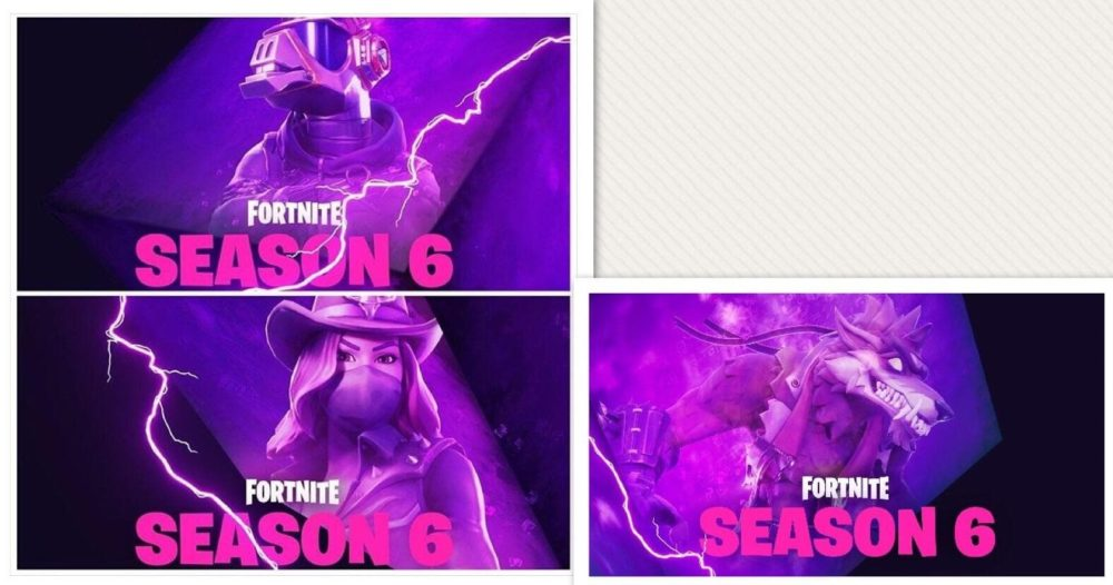 the third teaser was again revealed on twitter running as a direct thematic contrast to the previous two reveals the image found in the bottom right - fortnite season 6 cube
