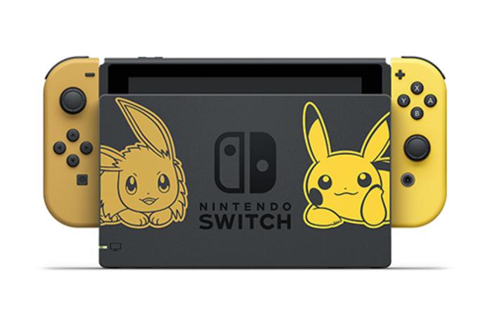 pokemon let's go, nintendo switch