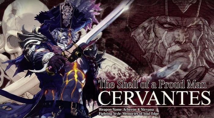 Soul Calibur VI, Cervantes