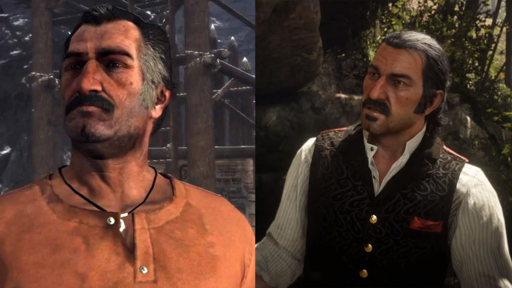 Red Dead Redemption 2, Graphics, Red Dead Redemption, Comparison, Graphics Comparison, Rockstar, Faces