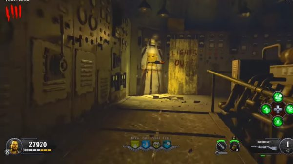 How to Turn on Power in Blood of the Dead, 1st Switch, black ops 4 zombies