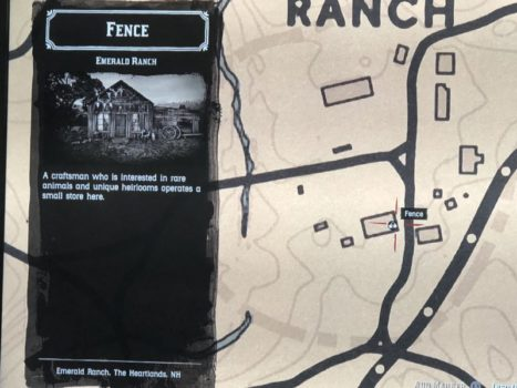Red Dead Redemption 2, Sell stolen items, fence, where to sell stolen items
