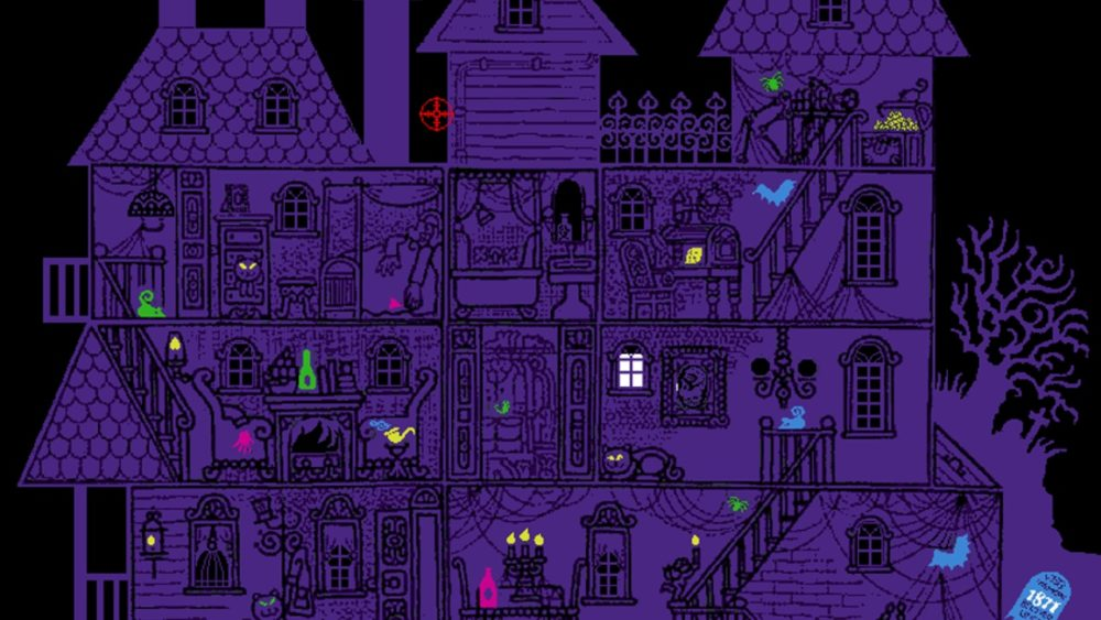 horror games, haunted house