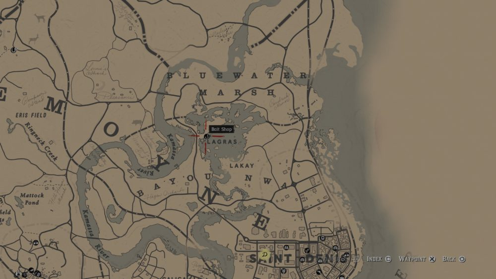 red dead redemption 2, map