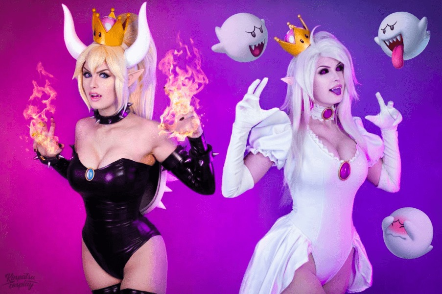 boosette, bowsette, cosplay, costume
