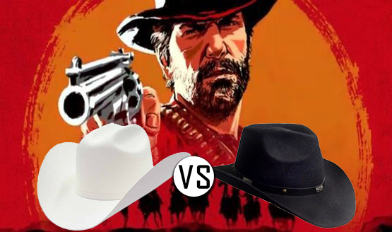 Are You A White Or Black Hat Cowboy? Find Out With This Red
