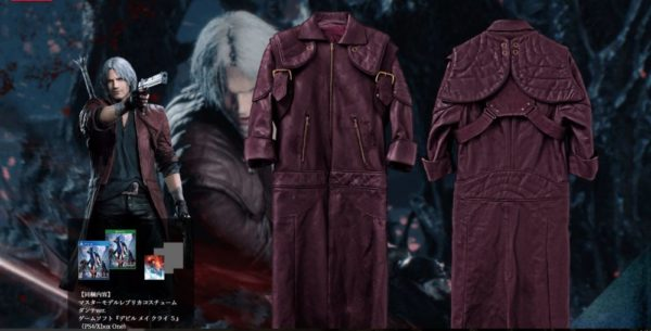 Dante, jacket, devil may cry 5