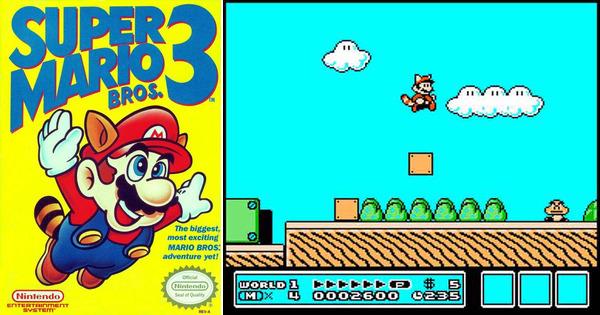 Super Mario Bros. 3, Switch