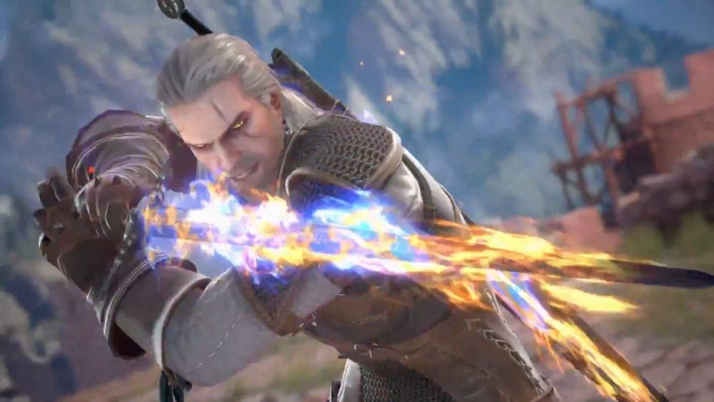 soulcalibur vi, geralt, tips, guide, play as