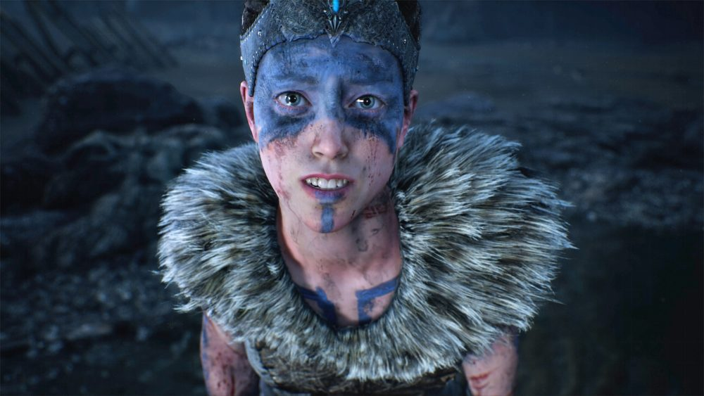 protagonist, hellblade, senua, ninja theory, top 10, ps4, xbox one, pc, 2017