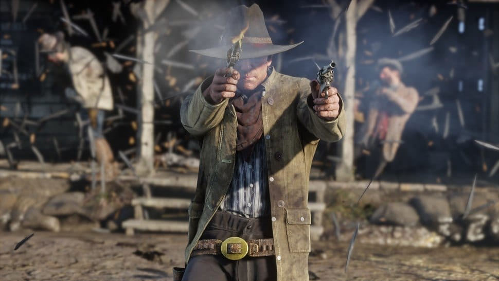 how to surrender, red dead redemption 2